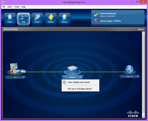 cisco network magic pro 5.5.9195