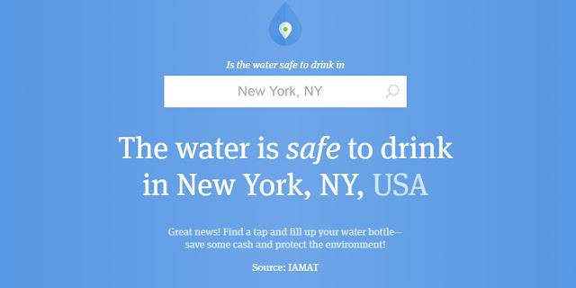 Cek Disini Apakah Air Keran di Kotamu Aman Untuk Diminum