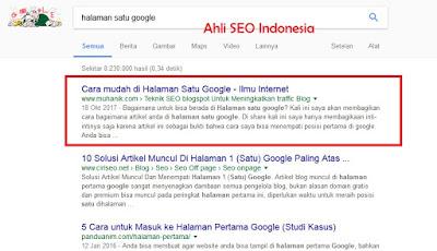 Cara Menjadi Pakar SEO, Ahli SEO dan Master SEO Indonesia