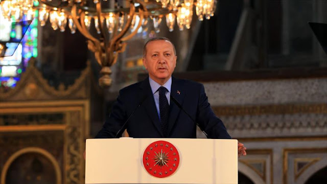 Erdogan a Netanyahu: ¡Eh, eres un ocupante y un terrorista!