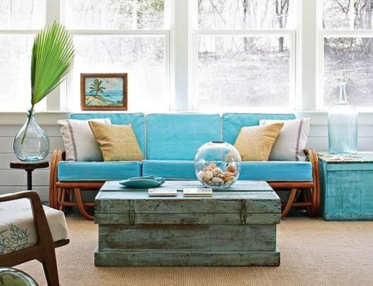 Coastal Coffee Table Decor Ideas
