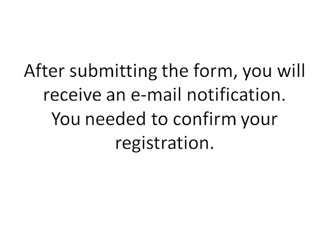 after submitting the online registration form for your health insurance, you will receive e-mail confirmation on your e-mail. Check your e-mail and confirm your registration. You are now registered and can start paying you health insurance.