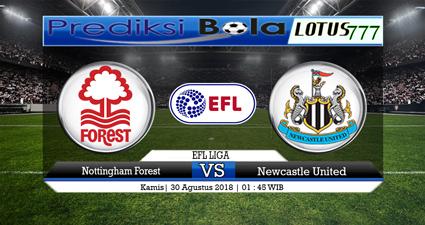 Prediksi Nottingham Forest vs Newcastle United 30 Agustus 2018