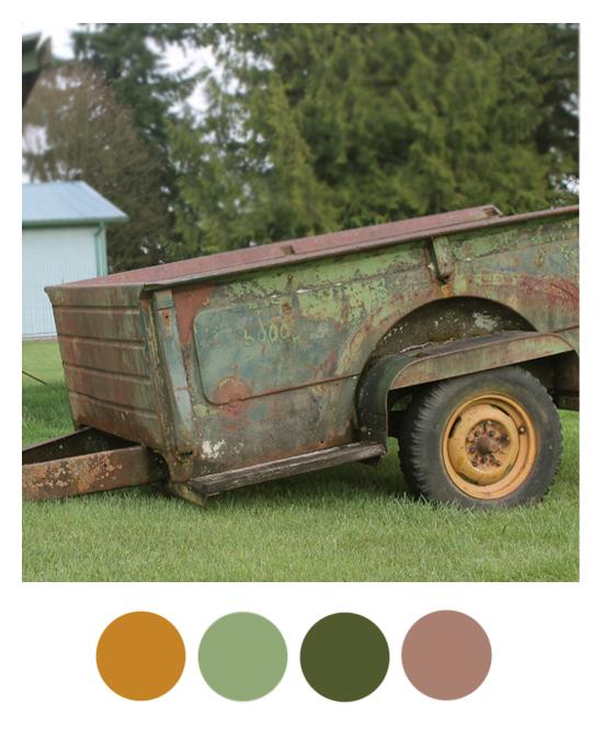 Color Palette Goldenrod Mint Hunter Green And Lavender