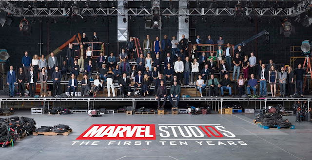 Marvel Studios class photo