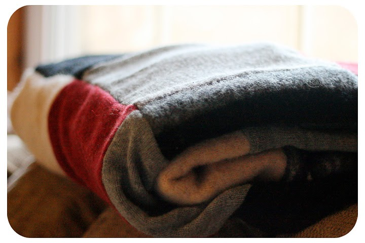How I Made A Recycled Wool Sweater Blanket Bull Rock