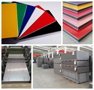 ACP adalah material pelapis dinding yang terbuat dari bahan <i>polyetheylene</i> (PE) yang dilapisi aluminium pada kedua sisinya sehingga menjadi panel.