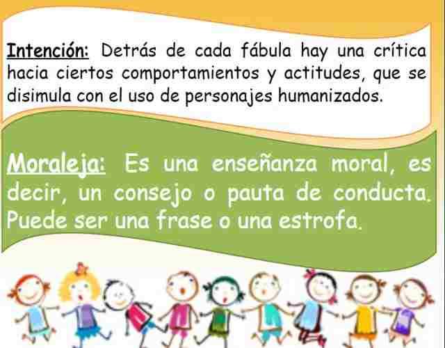 Explicar a los niños lo que es una moraleja