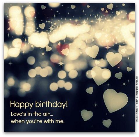 Birthday Wishes For Boyfriend