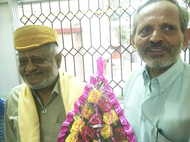 वीरेन्द्र मल्लिकक सम्मान मे जुटलाह मैथिलीसेवी