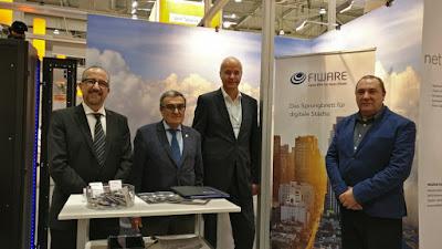 Acord entre el Parc Científic i la Fundació Fiware per posar en marxa el laboratori Lleida Fiware Hub