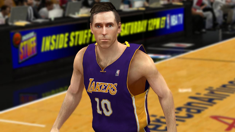 NBA2K14 Nash Hairstyle Patch Update