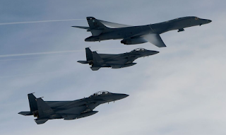 U.S. B-1B bombers to fly over Korea in joint exercise