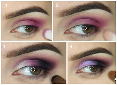 C mo hacer maquillaje de noche espectacular paso a paso belleza y peinados - Ojos ahumados para principiantes ...