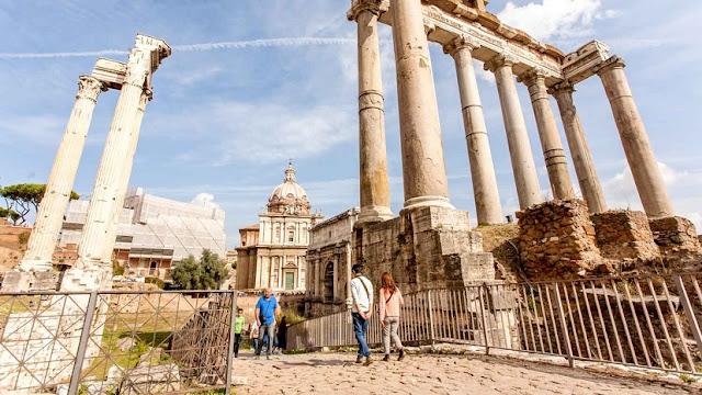 O que fazer no Fórum romano em Roma