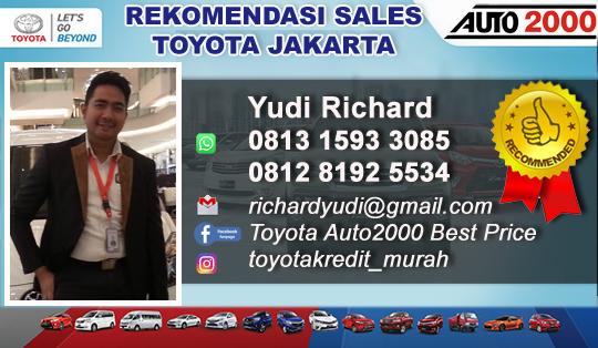 Rekomendasi Sales Toyota Slipi,