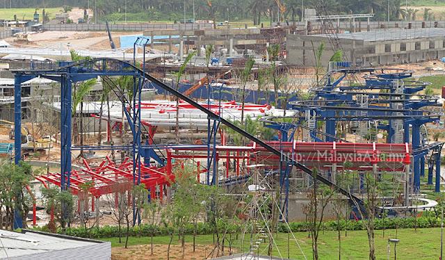 Legoland Malaysia Construction