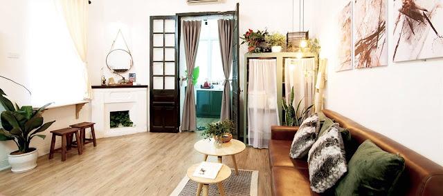 Thiết kế homestay theo phong cách thiết kế hiện đại, tiện nghi