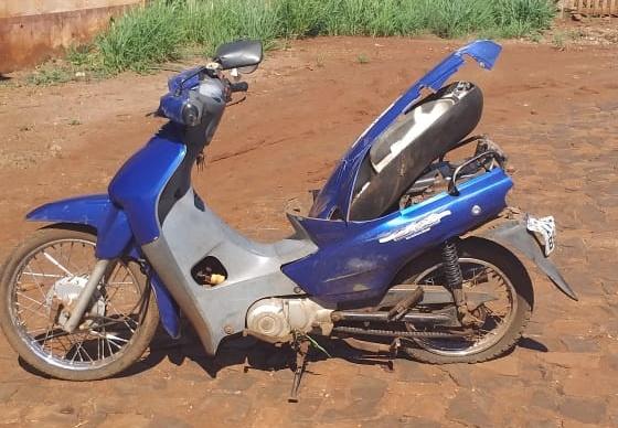 Kaloré-Acidente deixa motociclista com ferimentos graves