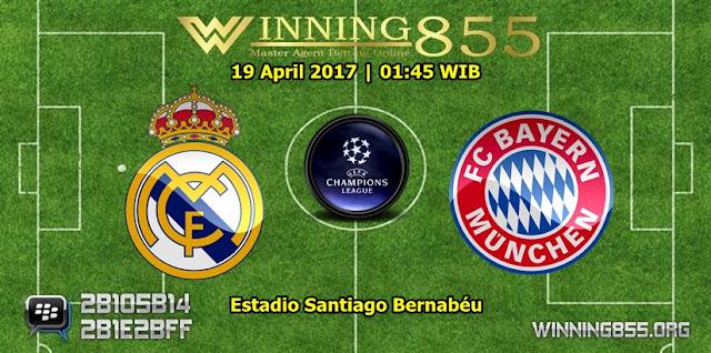 Prediksi Bola Real Madrid vs Bayern Munchen 19 April 2017