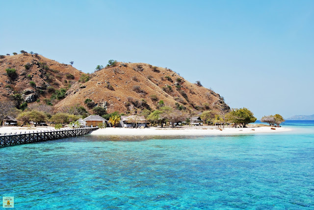 Isla de Kanawa en Flores, Indonesia