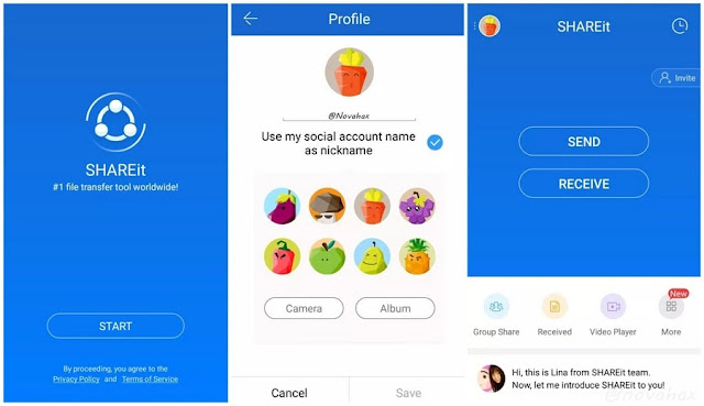 SHAREit adfrree apk download