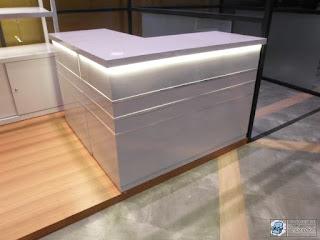 Semarang Furniture - Etalase Display Roti Untuk Booth Kecil Ukuran 2 X 3 Meter