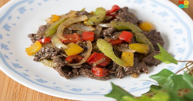 Chinese Black Pepper Beef Recipe