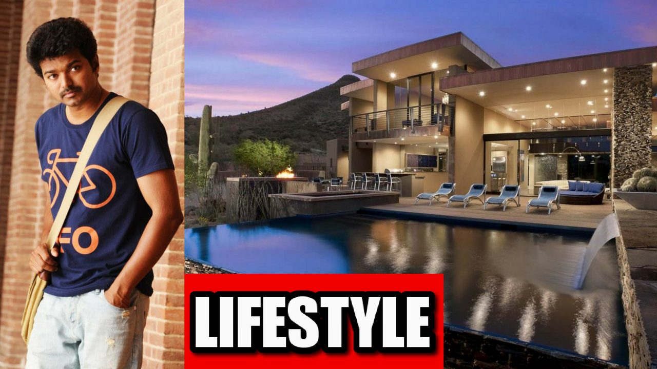 Vijay Luxurious Lifestyle 2018 | Income | Net Worth | Cars | Houses