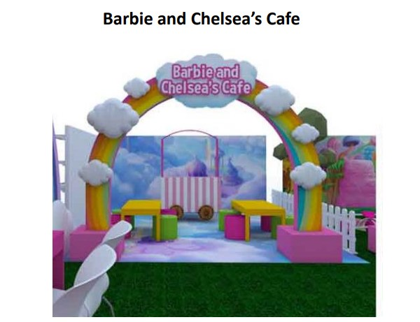 Barbie and Chelsea's Cafe