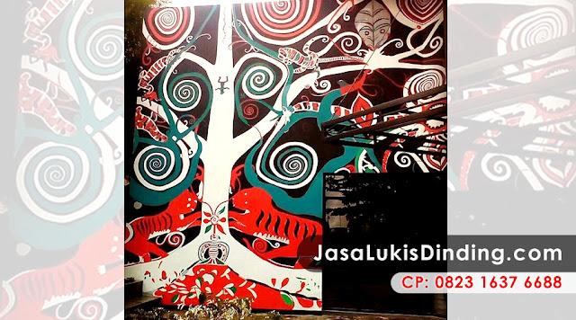 Lukisan Pohon Sakura, Lukisan Pohon Bambu, Lukisan Pohon Di Dinding, Lukisan Pohon Tanpa Daun, Gambar Lukisan Pohon Bambu, Gambar Lukisan Pohon Sakura, Gambar Lukisan Pohon Jati