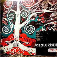 Contoh Gambar Lukisan Pohon 3 Dimensi