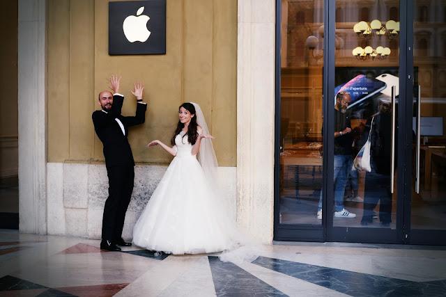 ślubna sesja w Toskanii