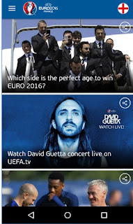 UEFA Euro 2016 Official App Questions