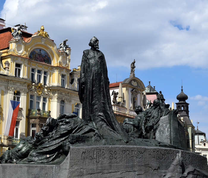 Jan Hus Memorial Prague