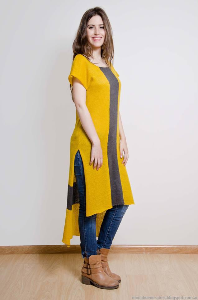 Moda tejidos invierno 2016 Lares moda 2016.