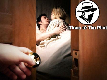 Thám tử theo dõi bắt quả tang ngoại tình tại huyện Hóc Môn