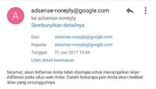 cara google adsense mengirim uang