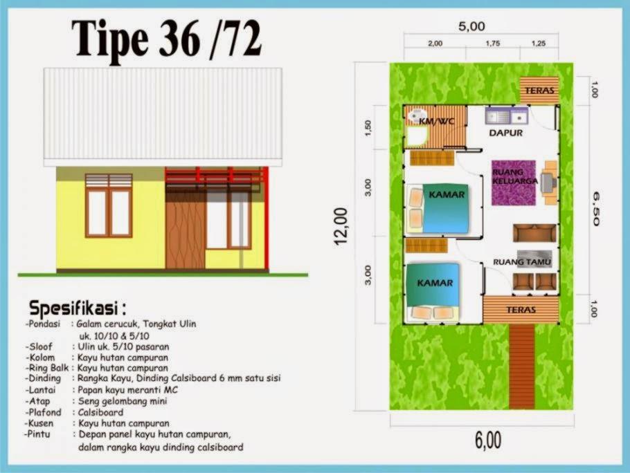 Gambar Desain Rumah Tipe 36 Luas Tanah 90 - Mainan Anak
