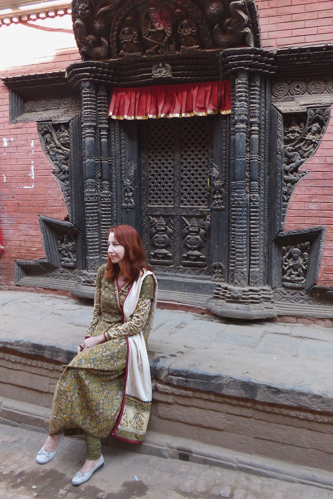Photo shooting in Bhaktapur
