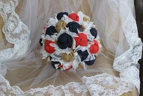rustic keepsake bridal bouquet