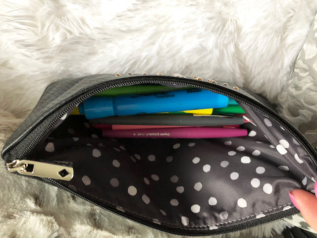 Thirty one clutch with pens