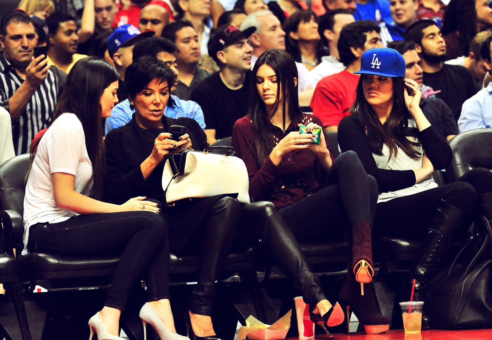 19 - Watching The Los Angeles Clippers Game on October 17, 2012