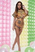 Rochie MissQ Perfect Look Gold (MissQ)
