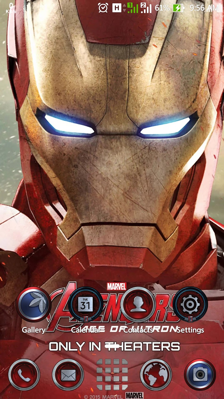 Themes iron man zenui theme for asus zenfone 2 asus zenfone blog screenshoots voltagebd Image collections