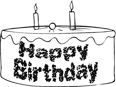 Gambar Mewarnai Kue Ulang Tahun - 14