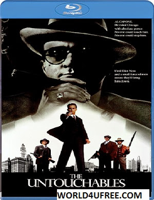 The Untouchables 1987 Dual Audio [Hindi-Eng] 300mb BRRip 480p