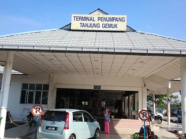 Tg. Gemok Jetty Terminal Ferry To Tioman Island