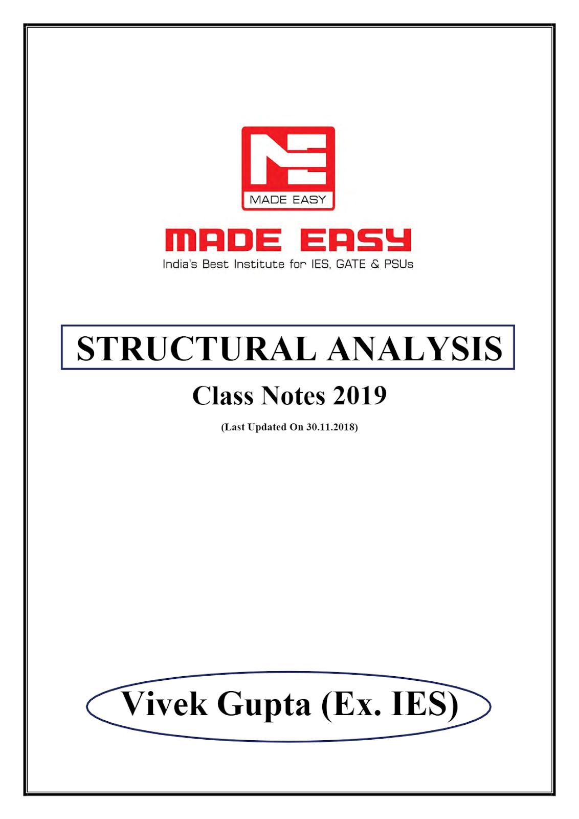 Structure analysis handwritten notes