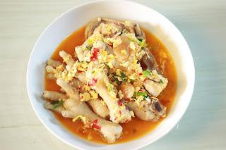 Masakan Sunda Seblak Ceker Ayam Pedas